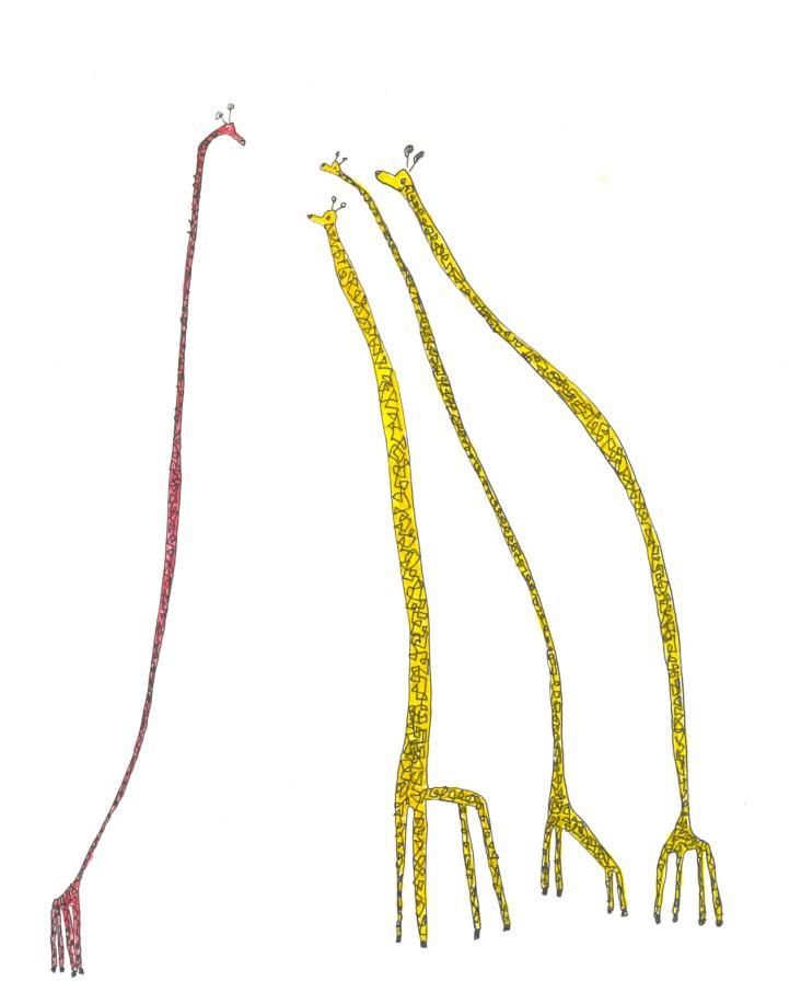 Semi Eschmamp Giraffen